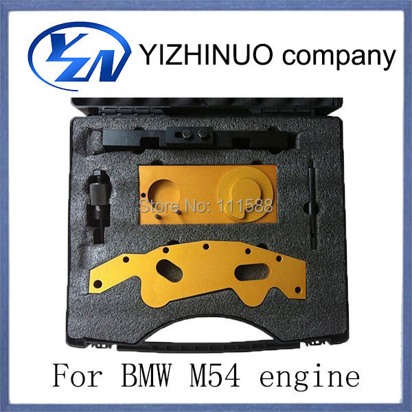 YN excellent car lock picking tools for M52TU M54 M56 engine timing tool set Camshaft Double Vanos Engine Timing Locking Tool(China (Mainland))
