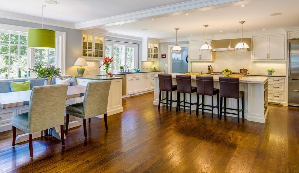 2015 customized solid wood kitchen cabinet oak wood kitchen cupboard blum hinges modern quartz stone(China (Mainland))