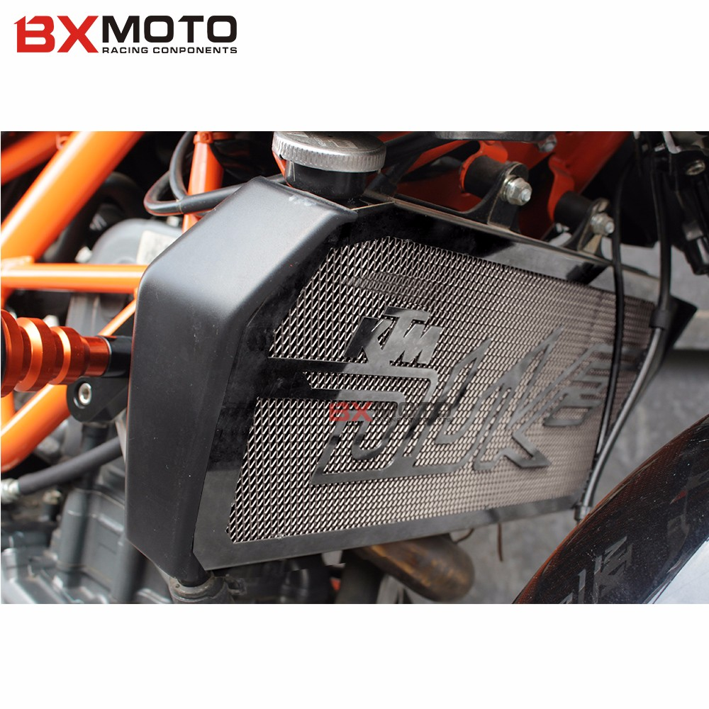 Fashion Motorcycles accessories motorcycle Radiator Grill Black Guard Cover Protector Radiator protection  For KTM DUKE 390