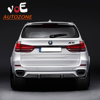 2014 2015 New Carbon Fiber F15 X5M Car Styling Rear Bumper lip,Rear Diffuser for BMW F15 X5M Original Bumper M Sport Bumper
