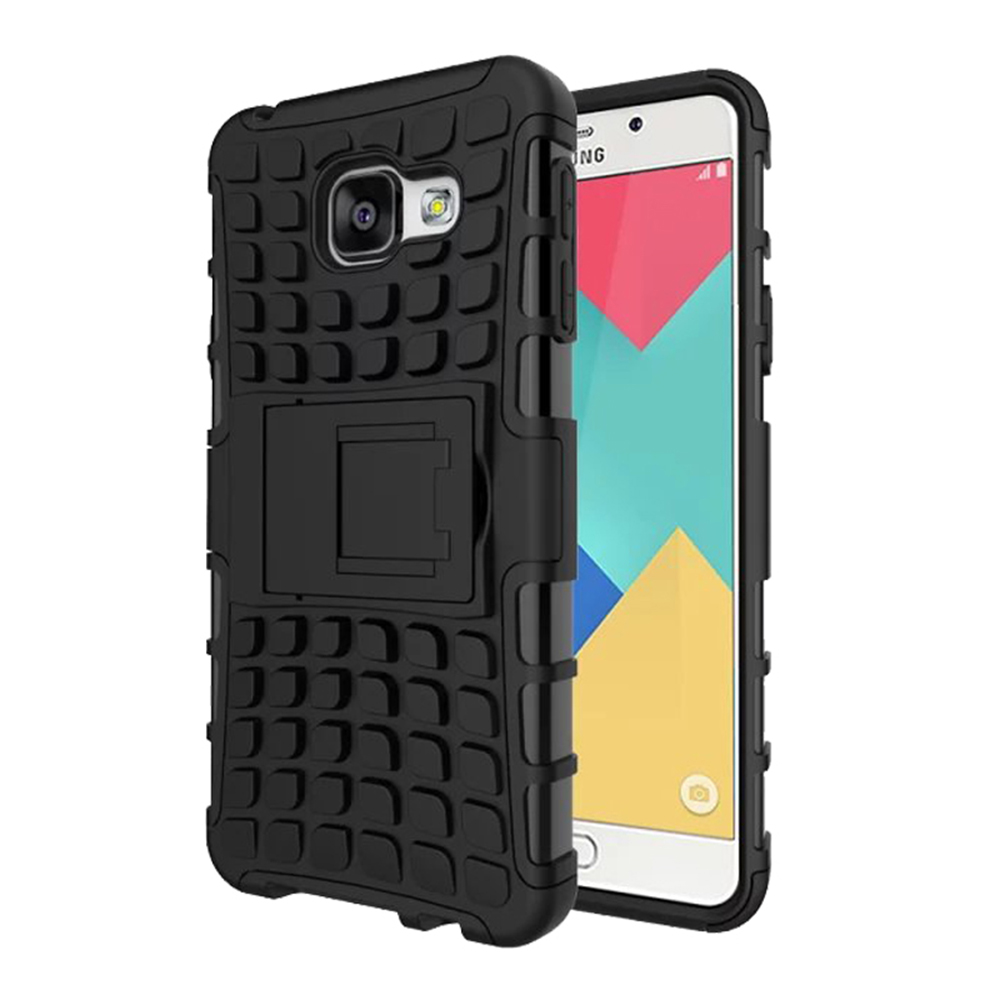 Hybrid Armor Case for Samsung Galaxy A3 2016 A310F A310 Heavy Duty Shockproof Hard Rugged Rubber Silicone Phone Cover IDOOLS(China (Mainland))