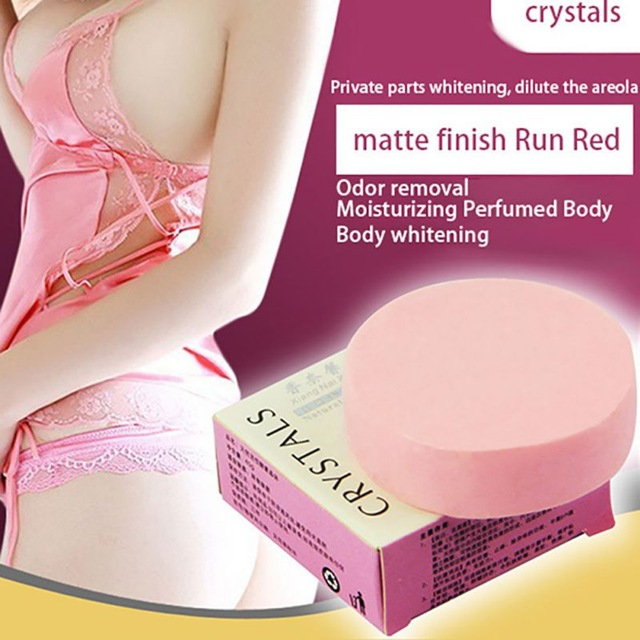 1pc soap base Natural Handmade Soap savon Active Enzyme Crystal 40g/pc Body Skin Whitening Soap for Private Parts free shipping(China (Mainland))