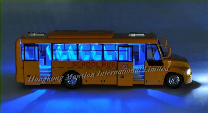 132 Car Model For Amecican School Bus style 1 (6)