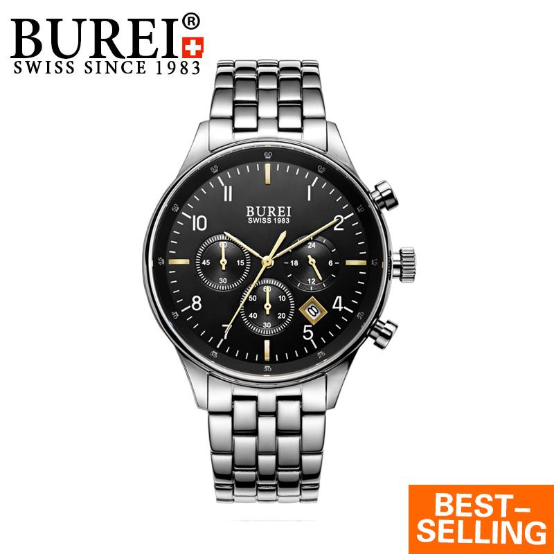 HOT Sell Men Watches Top Brand Luxury Men Multifunction Wrist Watch