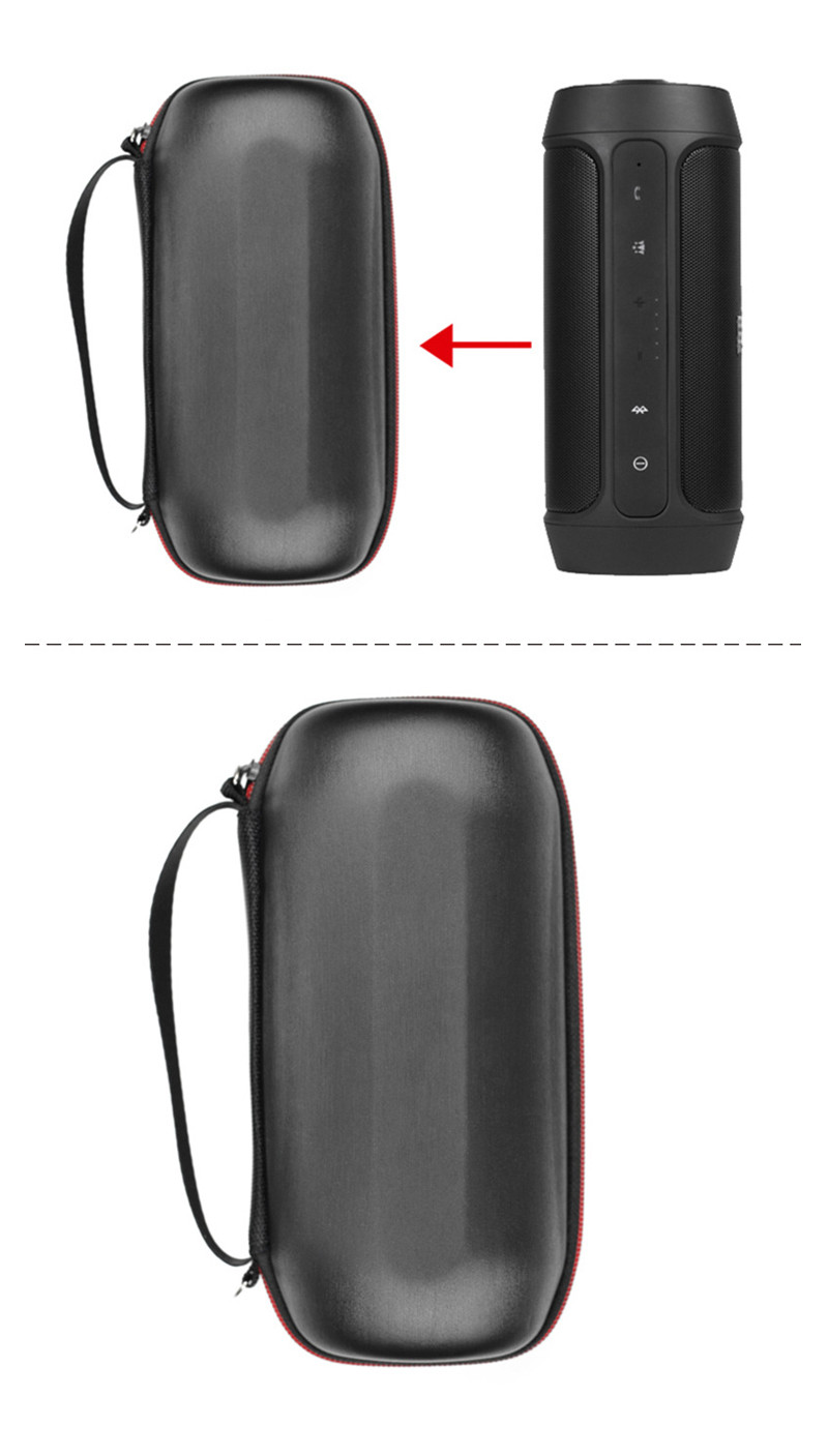 Portable Zipper Travel Hard Case Bag Protect Cover Holder Pouch Box For JBL Charge 2 Charge2 Bluetooth Speaker Accessories