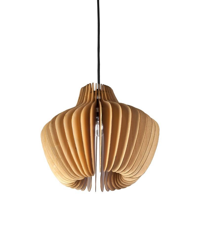 Ems Free Shipping E27 Pendant Light Wood Paper Lantern Shade Hanging Light Pendant Lamp Fixture