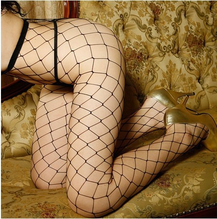 Hot sexy Women's Black Fishnet Tights Pantyhose, new sexy Lady lingerie net Tights Stocking(China (Mainland))