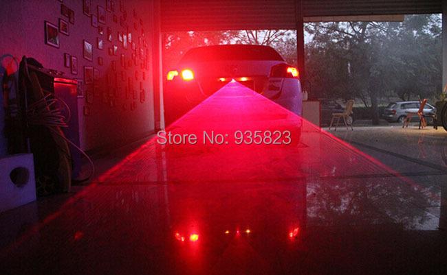 Anti Collision Rear-end Car Laser Tail Fog lamps (DC12v 24v) car styling infrared laser warning light LED parking - Shen zhen Jie Feng Technology Co., LTD store