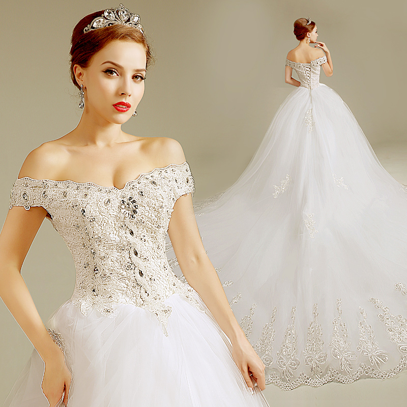 Full plus size vintage western wedding gowns slit neckline for Western vintage wedding dresses
