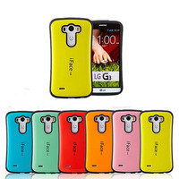 Hybrid Silicone Smooth Hard Rubber Case for LG G4 tough armor Hard Back cell Phone Cover Bags for g3 D855