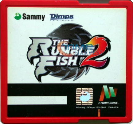 Rumble Fish 2 Sammy game card/arcade game Atomiswave system/upper game card PCB for sammy mother board/arcade game motherboard()