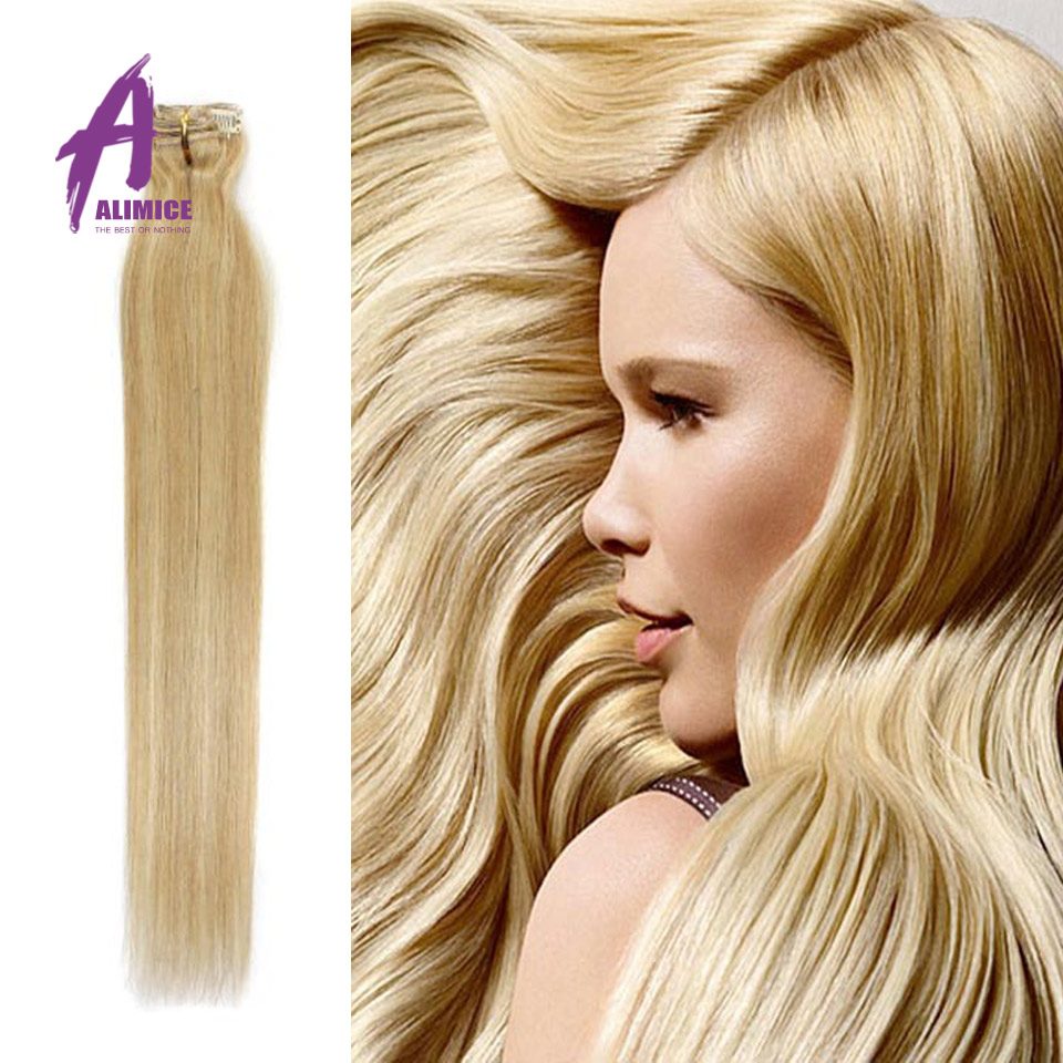 Clip in Human Hair Extensions 70g Brazilian Virgin Hair Straight 7 pcs Brazilian Human Hair Weave Clip In Human Hair Extension<br><br>Aliexpress