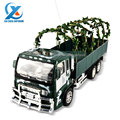 Simulation 4CH Model RC Trailer Fire Truck Children Electric Remote Control Toy Truck Car Vehicle Toys for Kids US Plug Type
