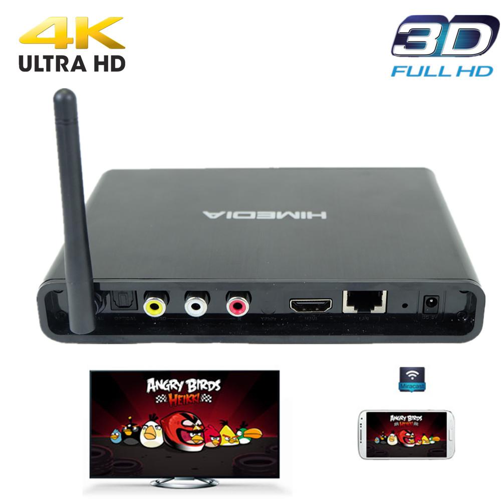 Android smart TV UHD 3D Kodi Google play skype wifi XBMC Media center Android Set Top Box Q3 1G DDR 8G Flash iptv Kodi TV newest(China (Mainland))