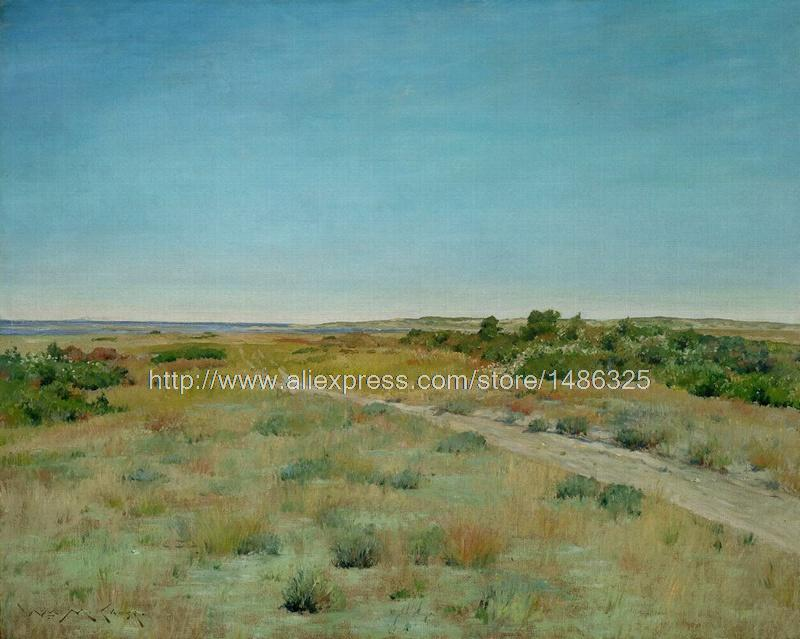 Pictures On The Wall Hand Painted Wall Designs Wall Panel Art Chinese Oil Painti Impressionist Landscape Painting(China (Mainland))