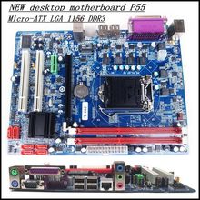100% NEW desktop motherboard P55  Micro-ATX LGA 1156 DDR3   free shipping(China (Mainland))