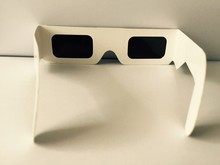 solar eclipse glasses paper frame PA0001 eyes are black lens, protect your eyes when seeing the solar eclipse 20pcs/lot(China (Mainland))