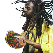 Free Shipping Painted 7 Keys Kalimba Finger Thumb Piano Sanza African Indigenous Musical Instruments Coconut Shell Toy K5BO(China (Mainland))