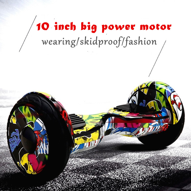 Tax EU/US/JP 2017 Newest 10 inch bluetooth hoverboard Samsung Battery Electric Scooter 2 Wheel Standing Scooters Unicycle