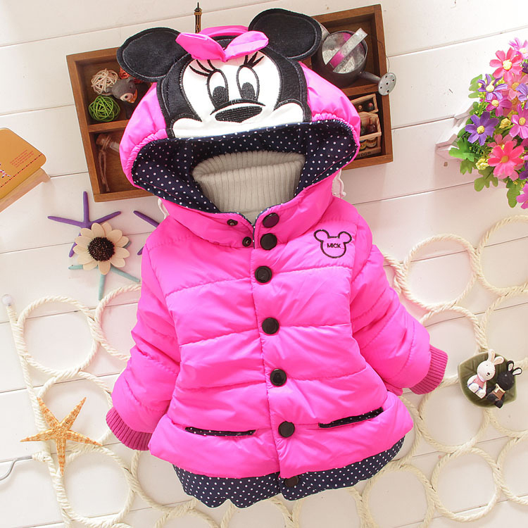 girls winter coat children cartoon outerwear kids cotton hooded coats baby clothing sets ws050<br><br>Aliexpress
