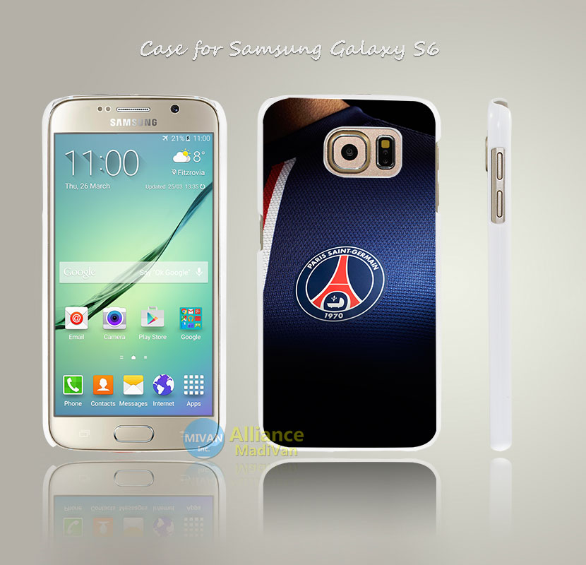 ac61 psg paris saint germain fc jersey logo soccer Style Hard White Case Cover Coque for Samsung Galaxy S3 S4 Mini S5 S6 S6 Edge(China (Mainland))