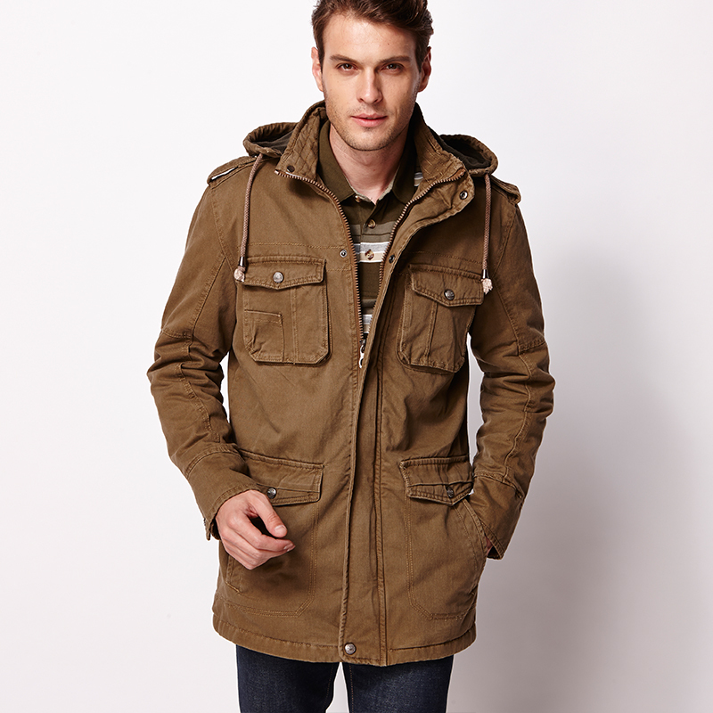 Buy Mens Parka Jacket QDpkwa