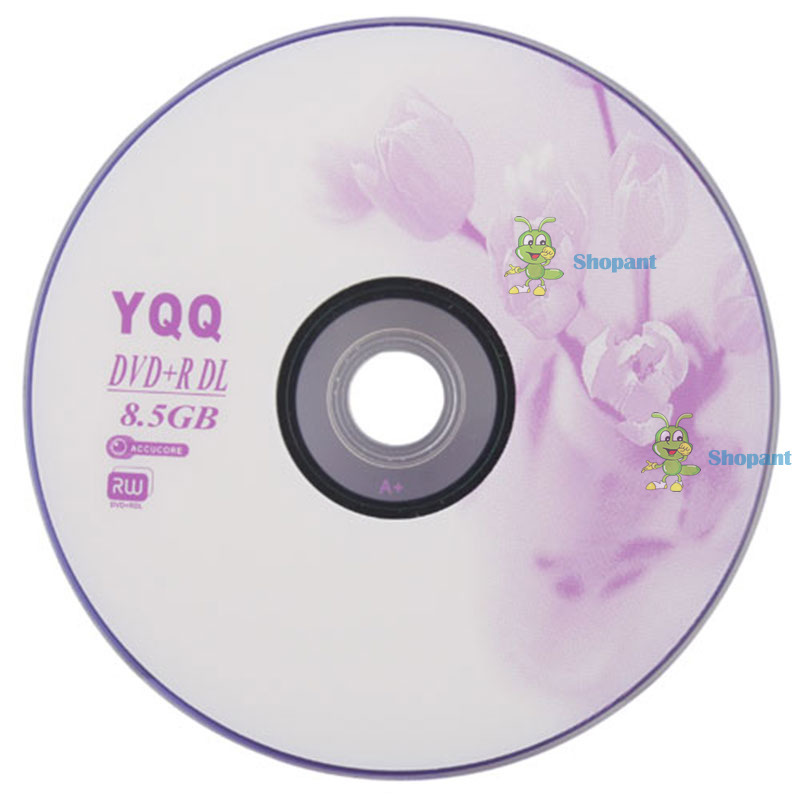 bestChoise Helpful! 5Pcs New 8X Blank Recordable Printable DVD+R DVDR Blank Disc Disk 8X Media 8.5GB Personalized!(China (Mainland))