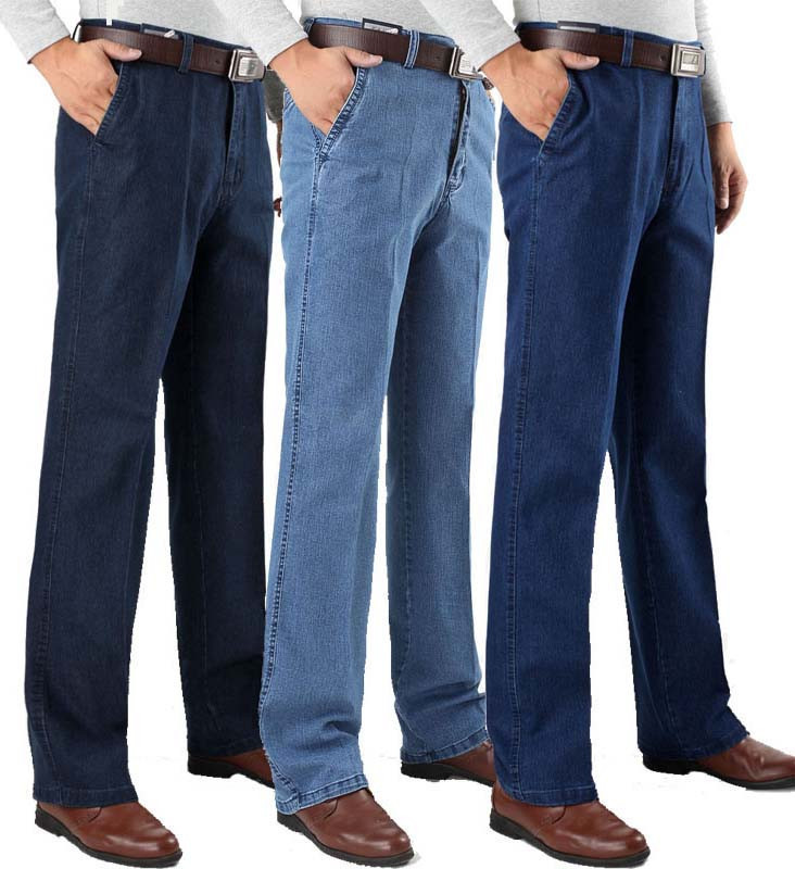 2014-Brand-Men-High-Waist-Straight-Jean-Pants-Plus-Size-40-42-44-Thin-Denim-Jeans.jpg