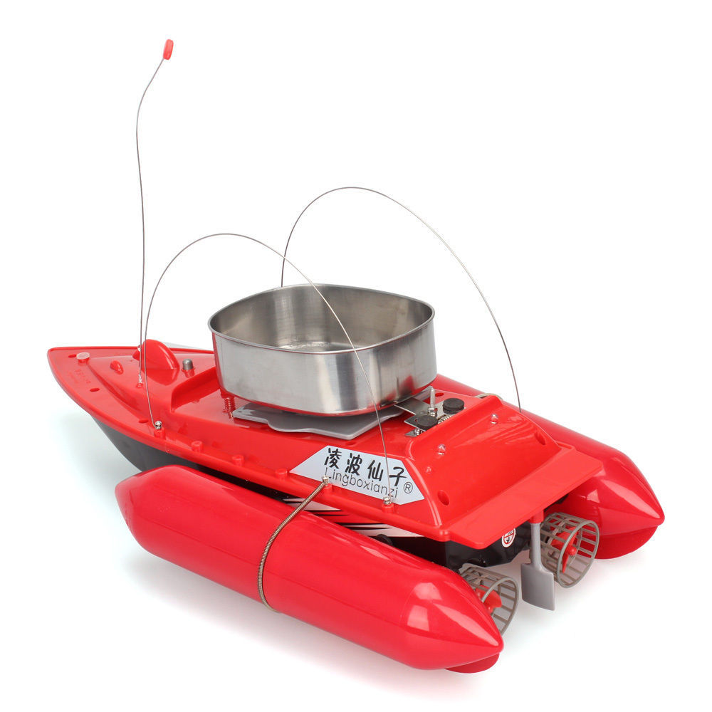 Buy newest updated t10 mini rc bait boat for Rc fishing boat