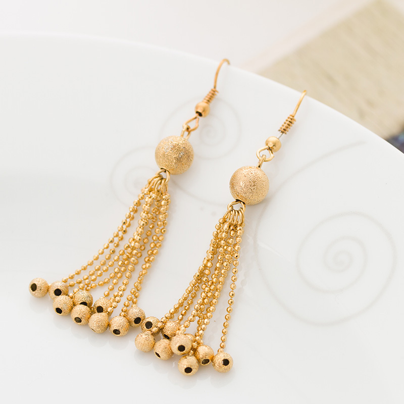 Gold Earrings For Women With Price : Amazing Black Gold Earrings ...