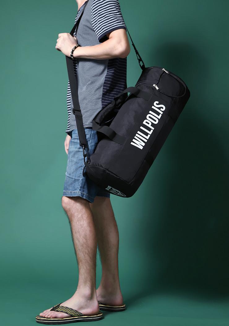 Hot Sale fashion Men women Travel Sports Bag Large Capacity Gym Men Messenger Bags with zipper shoulder handbag