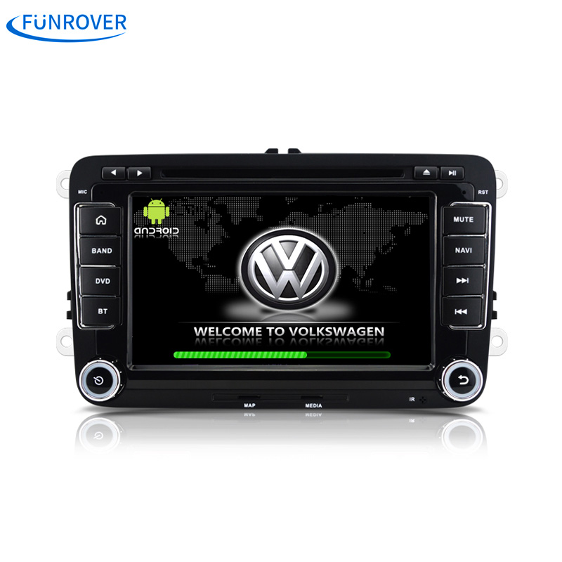 Car Radio playe 2 din android 5.1 for vw passat b6 golf 4 5 tiguan polo skoda octavia with steering wheel controlcar radio gps(China (Mainland))