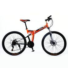Запуск Leopard складной bicycmountain велосипед 26-дюймовый стальной 21 скорость велосипеды двойной дисковые тормоза с дорожных велосипедов гоночный ...(China)