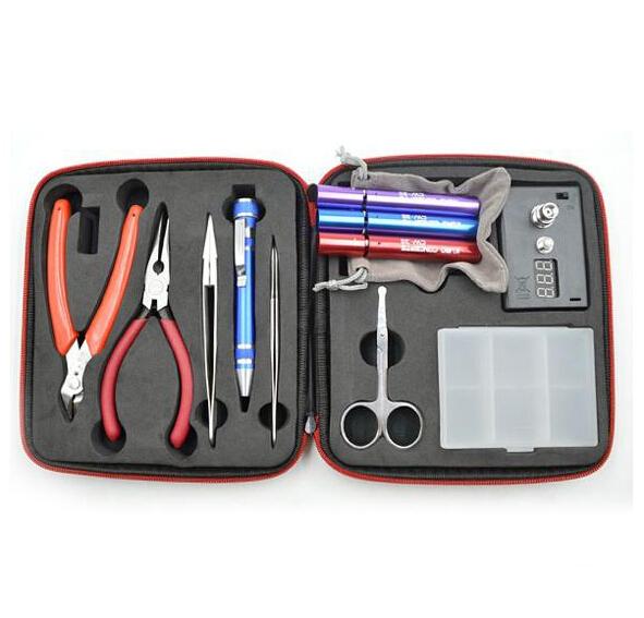 Coil JIG Tool Set Complete Kit DIY Tool Coil winder ceramic tweezer coil jig kit(China (Mainland))