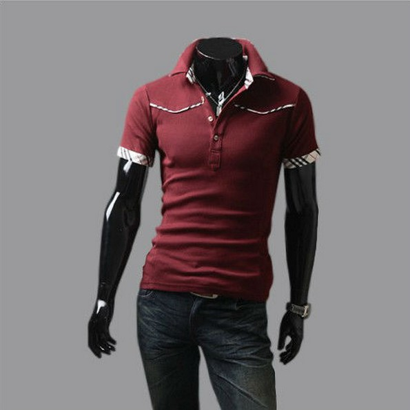 2016 New Short Sleeve Men Polo Shirt Casual Summer Style Sport Shirts Cotton Solid Turn Down Collar Tops Clothing Promotion(China (Mainland))