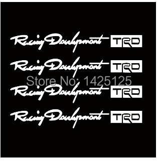 , Reflective car stickers TRD adhesive door scorners personalized body sticker car, Buy 2 get 1 - Personality store