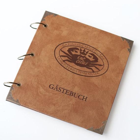 Personalized recipe book, restaurant guest book, Photo album,wedding guest book,adventure book, Bridal Shower Gift(China (Mainland))
