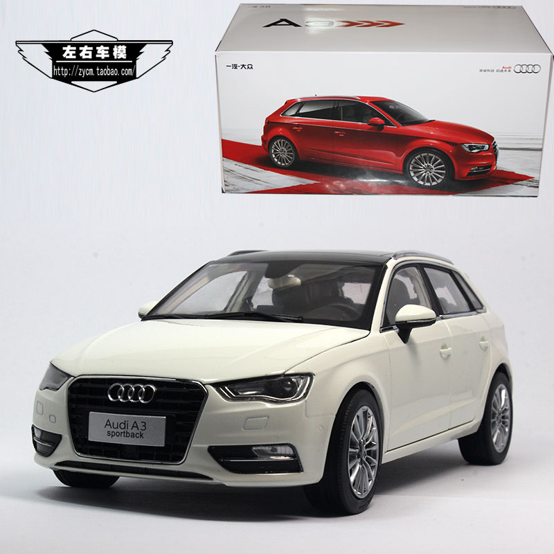 1/18 Scale Car Model Toys Germany Audi A3 Sportback 2014 Diecast Metal Car Model Toy New In Box For Collection/Gift/Decoration(China (Mainland))