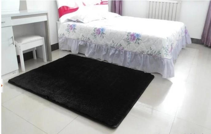 japanese carpet 40 150cm black color carpet living room soft floor rug
