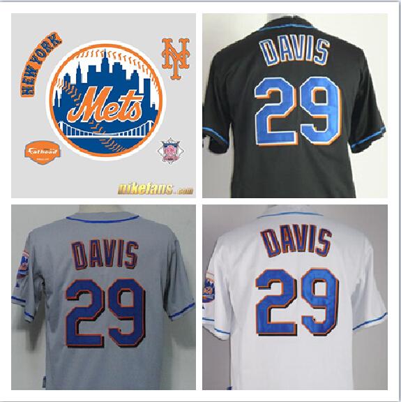 iorque base jersey,#29 Ike Davis jersey,New York Mets Baseball jersey,authentic Stitched Baseball Jersey,Embroidery logos(China (Mainland))