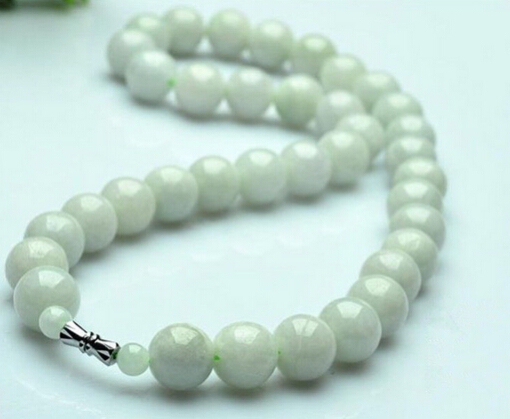 Здесь можно купить  0001420 Certified Grade A 100% Natural Green Jade/Jadeite Necklace/ Beads Necklace 0001420 Certified Grade A 100% Natural Green Jade/Jadeite Necklace/ Beads Necklace Ювелирные изделия и часы