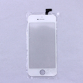 Free shipping black White TP touch Screen for iPhone 5 Panel Glass Digitizer Sensor Replacement parts