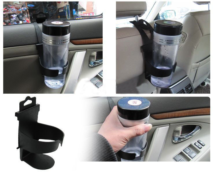 Hot Useful Universal Door Seat Clip Mount Drink Bottle Cup Holder Car Truck Boat New#A3009008(China (Mainland))