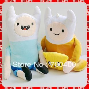 Fashion New Adventure Time With Finn And Jake 20-inch soft toys 2 size for selection plush gifts Free shipping<br>
