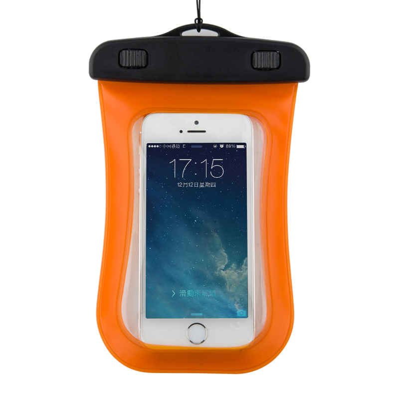 Wholesale 5'' Pouch mobile phone waterproof pouch for samsung waterproof bag case pouch for bicycle cell phone pouch for running