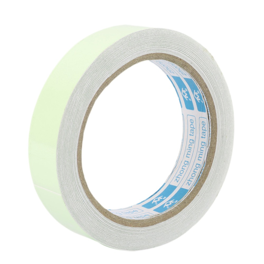 10M 20mm Luminous Tape Self-adhesive Warning Tape Night Vision Glow In Dark Safety Security Home Decoration Luminous Tapes