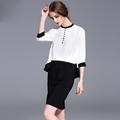 New 2016 Women summer style plus size beached OL chiffon Dress female O neck short Sleeve