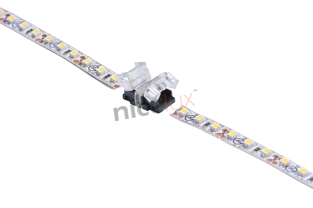 5pcs/lot 2pin 3pin 4pin 5pin LED Strip Connector for Single RGB RGBW Color 3528 5050 LED Strip to Strip Connection Terminal