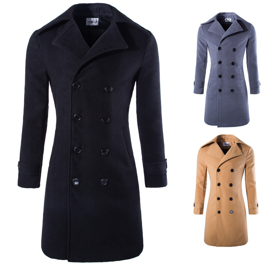 Free-shipping-2015-spring-UK-style-long-trench-coat-mens ...