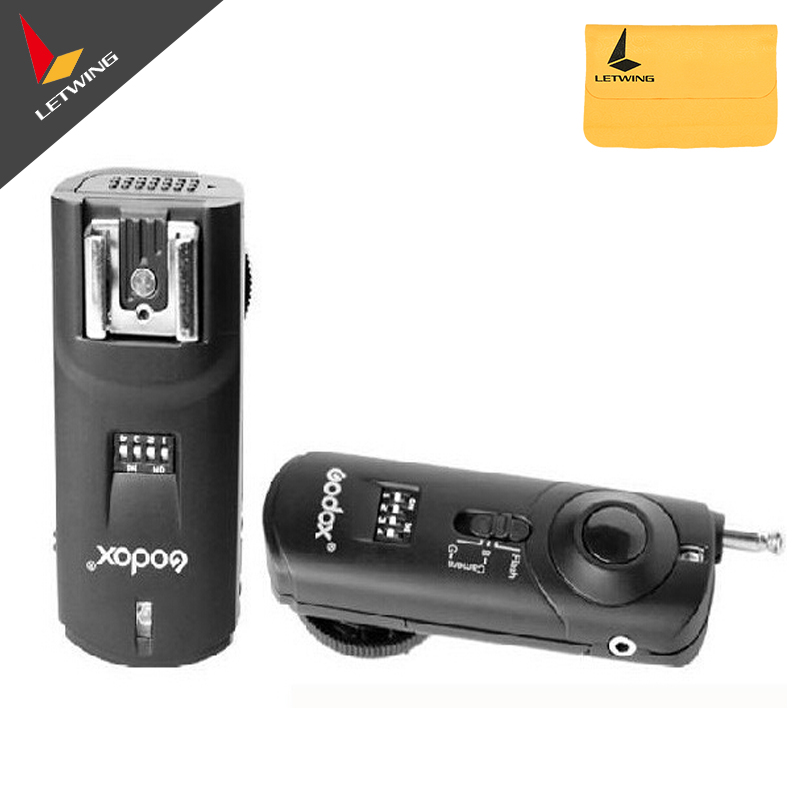 Godox Reemix Remote control Flash Trigger Camera Shutter Release 3-in-1 Remote Controller for Nikon D70S D80(China (Mainland))